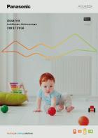 Panasonic Aquarea Luft/Wärempumpen-Katalog